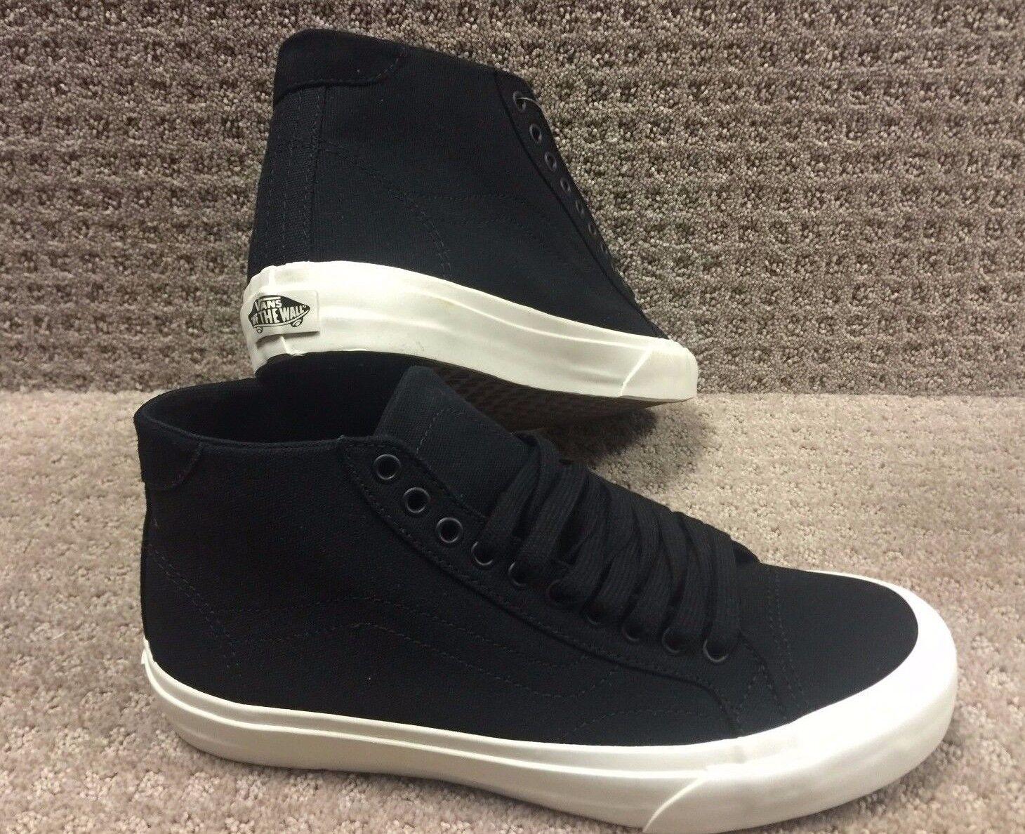 Vans Chaussures Hommes  Court Mid  (Toile) Noir