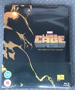 Luke-Cage-Netflix-Season-1-Blu-Ray-Steelbook-UK-Sealed-New-Mint-Marvel-MCU