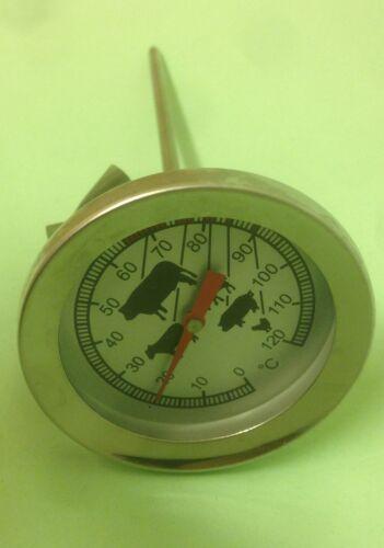 Bimetall Braten Fleisch Ofenthermometer Kerntemperatur Stechthermometer