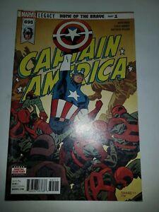 Actif Captain America Nº 695 Americano Estado Como Nuevo Mire Mas Articulos Et Aide à La Digestion