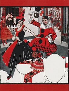 Postcard-Halloween-034-The-Party-Couple-Arrives-at-Halloween-Costume-Party-034-V-15