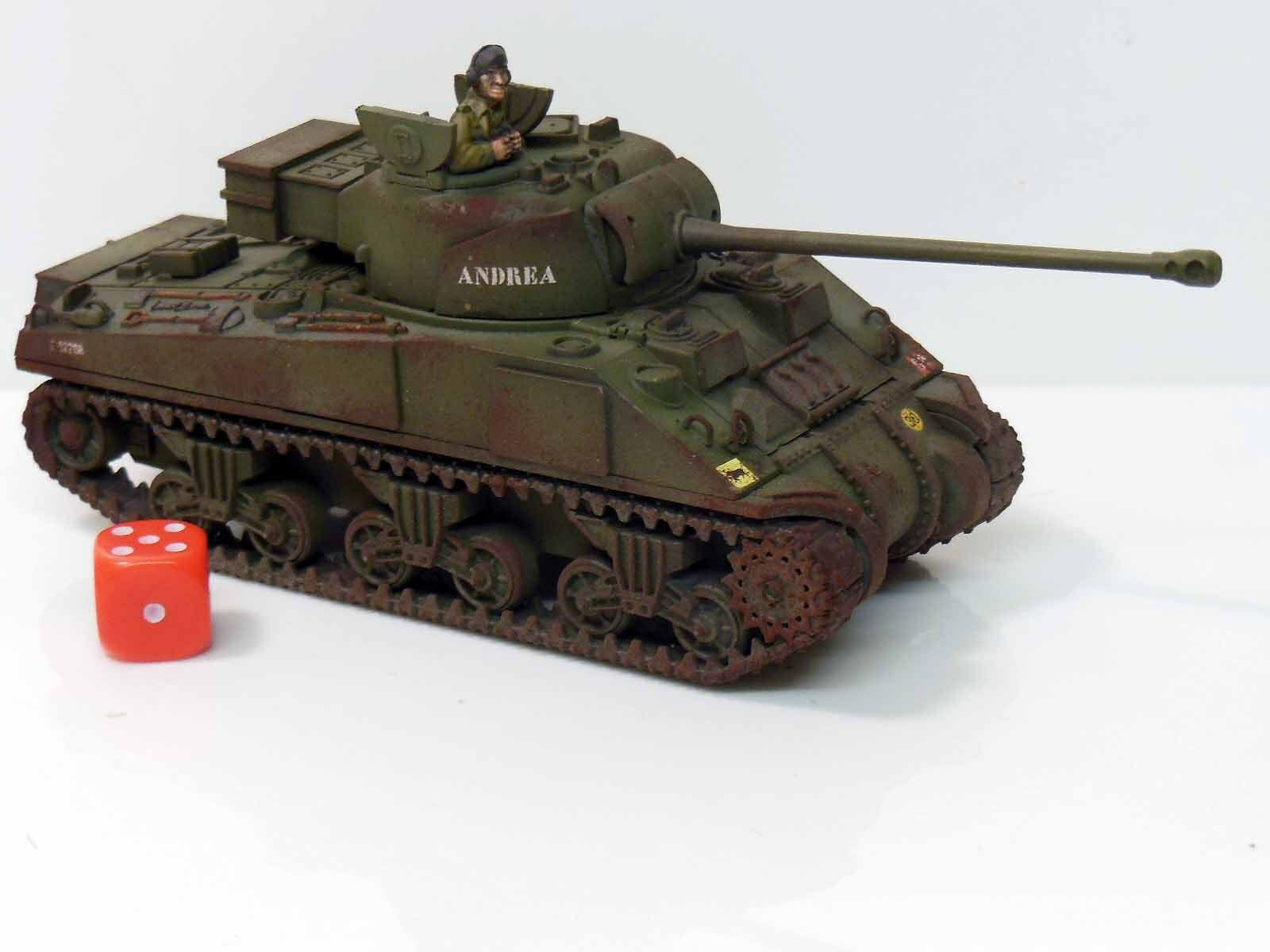 28mm Bolt Action Chain Of Command British Sherman Firefly Tank Painted  R1