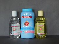 3pk Mennen Baby Magic Talco7.06oz/aceite 200ml/colonia200ml Para Bebes