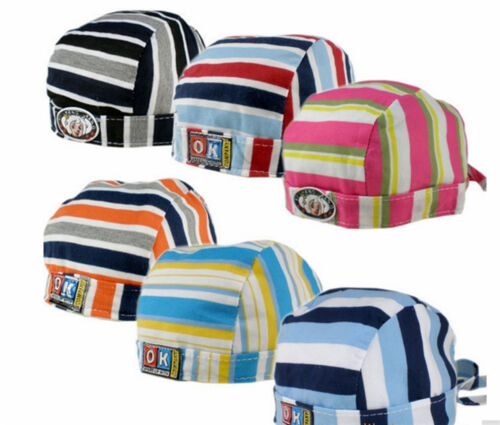 Baby Kinder PIRATEN KAPPE Sonnenmütze Junge Mädchen BANDANA Windschutz Mütze
