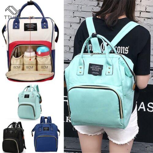 ✅UK STOCK Waterproof Bag Baby Diaper Nappy Mummy Changing bag Backpack