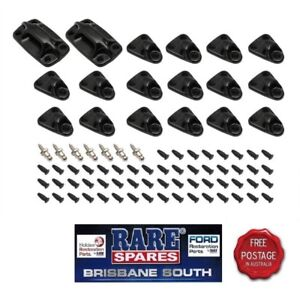 HOLDEN-TONNEAU-ATTACHING-KIT-HQ-HJ-HX-HZ-WB-UTE-ROPE-TYPE-BACK-LEDGE-CLIPS-INC