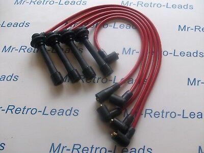 Rouge 8 mm Performance Ignition Leads Pour la 323 Turbo MX-3 MX-5 XEDOS 6 qualité