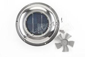 Solar Vent Automatic Ventilator Fan For Motorhome Rv Caravans Bathroom Boat Us Ebay