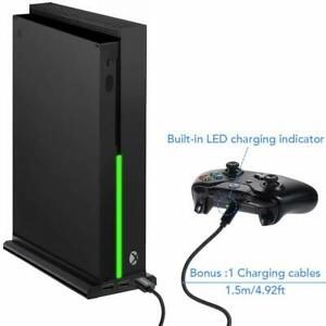Xbox-One-X-Vertical-Stand-Controller-Charing-Cooling-Fan-3-USB-Port-Hub