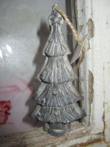 Clayre eef Weihnachtsbaum silber Matt Antik Weihnachten Shabby Baumschmuck Deko