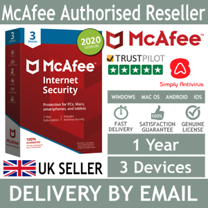 McAfee-Internet-Security-2020-3-Multi-Devices-1-Year-5-Min-Delivery-by-Email