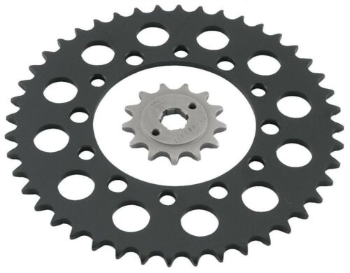 JT Front /& Rear Steel Sprocket Set Sizes  15//41 Suzuki LT250R 85-92