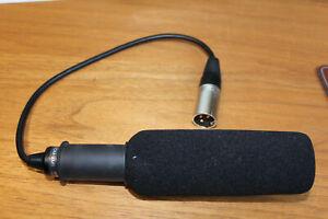 Original-Sony-ECM-NV1-Kamera-Camcorder-XLR-Mikrofon-Shotgun-Microphone