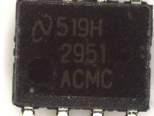 5x réglable LP2951ACM LDO regulator SMD 2951ACM National Semiconductor 2951