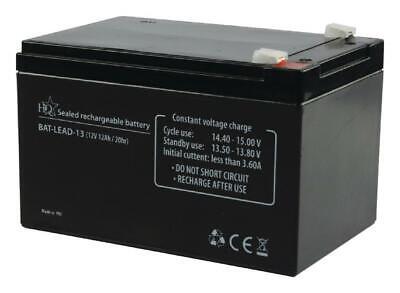 Batteria 12v 12a Piombo Gel Allarmi Ups Elettronica 12ah Come Fg21202 Biciclette