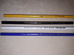 West-Design-Royal-Sovereign-Chinagraph-Pencils-4-Assorted-Colours-To-Choose-From
