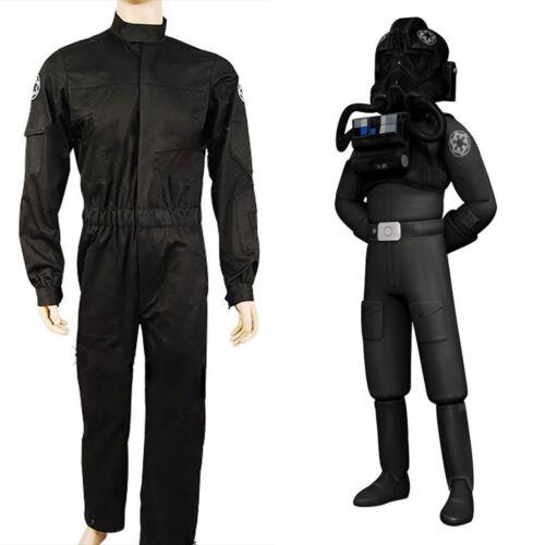 Star Wars Imperial Tie Fighter Pilot Flight Suit Cosplay Costume AA.1118 Hot