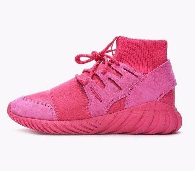 ADIDAS TUBULAR DOOM TRAINERS SNEAKERS SHOES - EQT PINK - S74795 - UK 7, 8, 9, 10