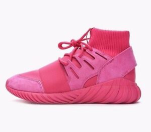 on sale fac3e d0505 Details about ADIDAS TUBULAR DOOM TRAINERS SNEAKERS SHOES - EQT PINK -  S74795 - UK 7, 8, 9, 10