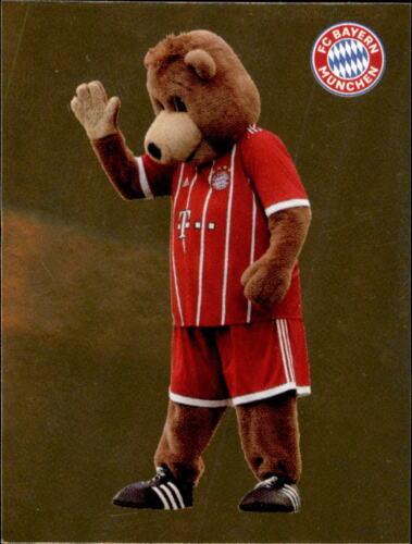 Panini FC Bayern München 2017//18 Maskottchen Sticker 11