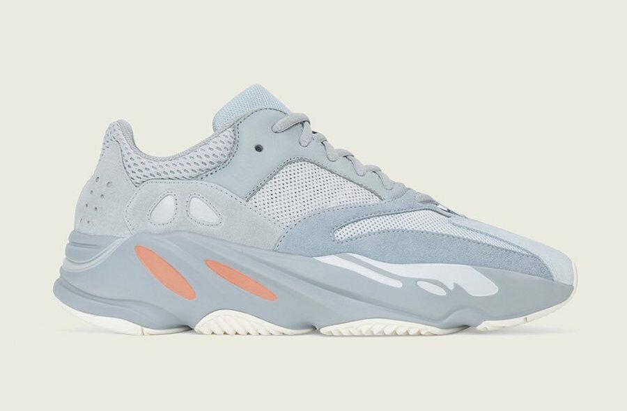 Men's Adidas Yeezy Boost 700  Inertia  Wave Runner Grey EG7597 Brand New