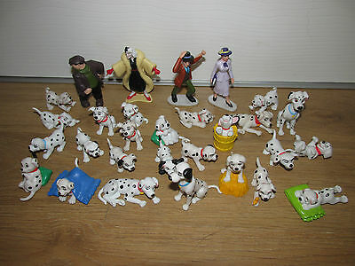 Disney 101 Dalmatian Figures Bundle / Job Lot