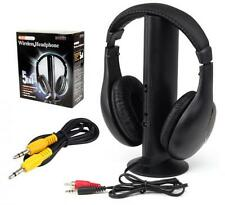 5 IN 1 WIRELESS HEADPHONES WITH MIC FOR MP3 TV PC