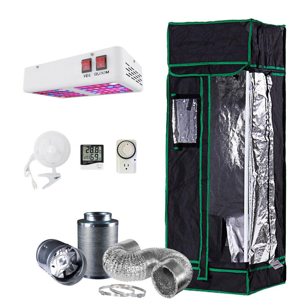 48x48x80 grow tent kit