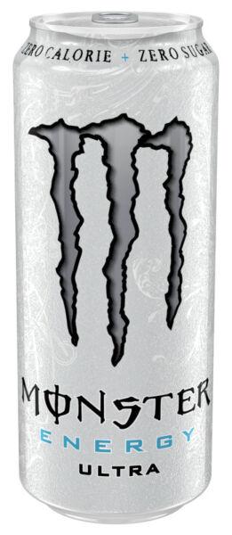 Monster Energy Ultra White Energie-Getränke - Dose, 12X500 ml | eBay