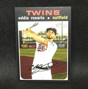 SP! 🚨Eddie Rosario 2020 Topps Heritage High Number #432 Minnesota Twins