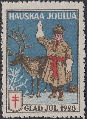 1928 Tb Siegel 5 Postfrisch DemüTigen Finnland