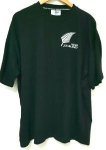New-Zealand-Rugby-World-Cup-1999-Black-Shirt-L-Official-Licensed-Product-vintage