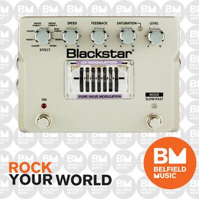 BLACKSTAR HT-MODULATION MO-1 GUITAR FX PEDAL ALL VALVE CHORUS PEDAL