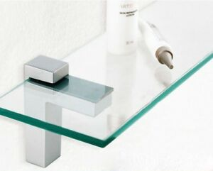 pair of adjustable glass wood shelf brackets ebay rh ebay com adjustable glass shelving brackets adjustable glass shelving hardware