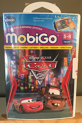 Disney Pixar Vtech Storio Touch Learning System Game Cars Toon Tokyo Mater
