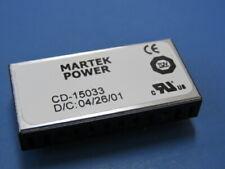 Martek Power Cd 15033 Qty Of 1 Per Lot Dcdc Converter 418 Vdc In 189 Vdc Out