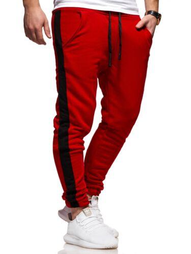 Jogginghose Track Pants Sporthose Herren Trainingshose Hose Streifen div Farben