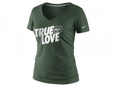 Nike Women's New York Jets True Love T Shirt    Save 30%!!   Med Large XL