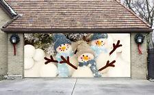 Garage Door Covers christmas tree garage door covers 3d banners outside house