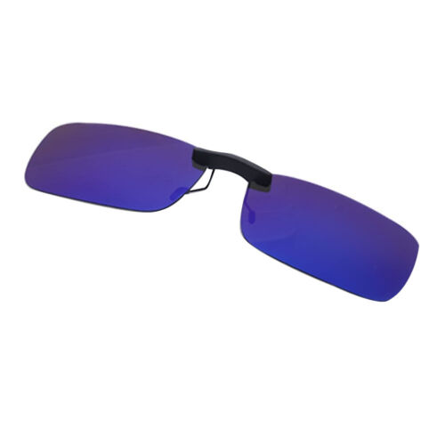 Mens Polarized Sunglasses Clip On Driving Cycling Sun Glasses Holiday Outdoor