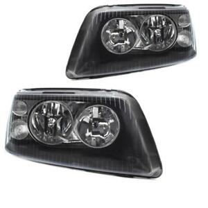 Juego-FAROS-VW-t5-Multivan-Caravelle-ano-03-09-h7-h1-incl-motores-negro