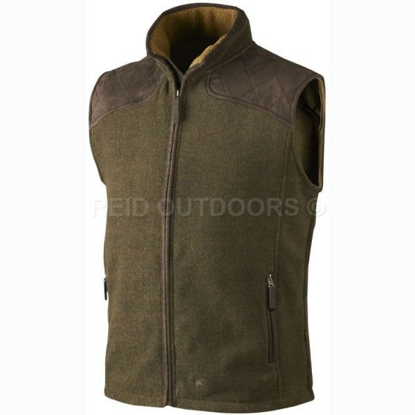 Seeland  William Fleece Waistcoat - Green - Sizes  M-3XL (Shooting Hunting)  a lot of concessions