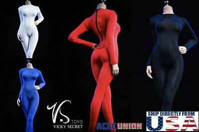 """1//6 Slim Tights Stretch Suit Set B For 12/"""" PHICEN TBLeague Hot Toys Figure ❶USA❶"""