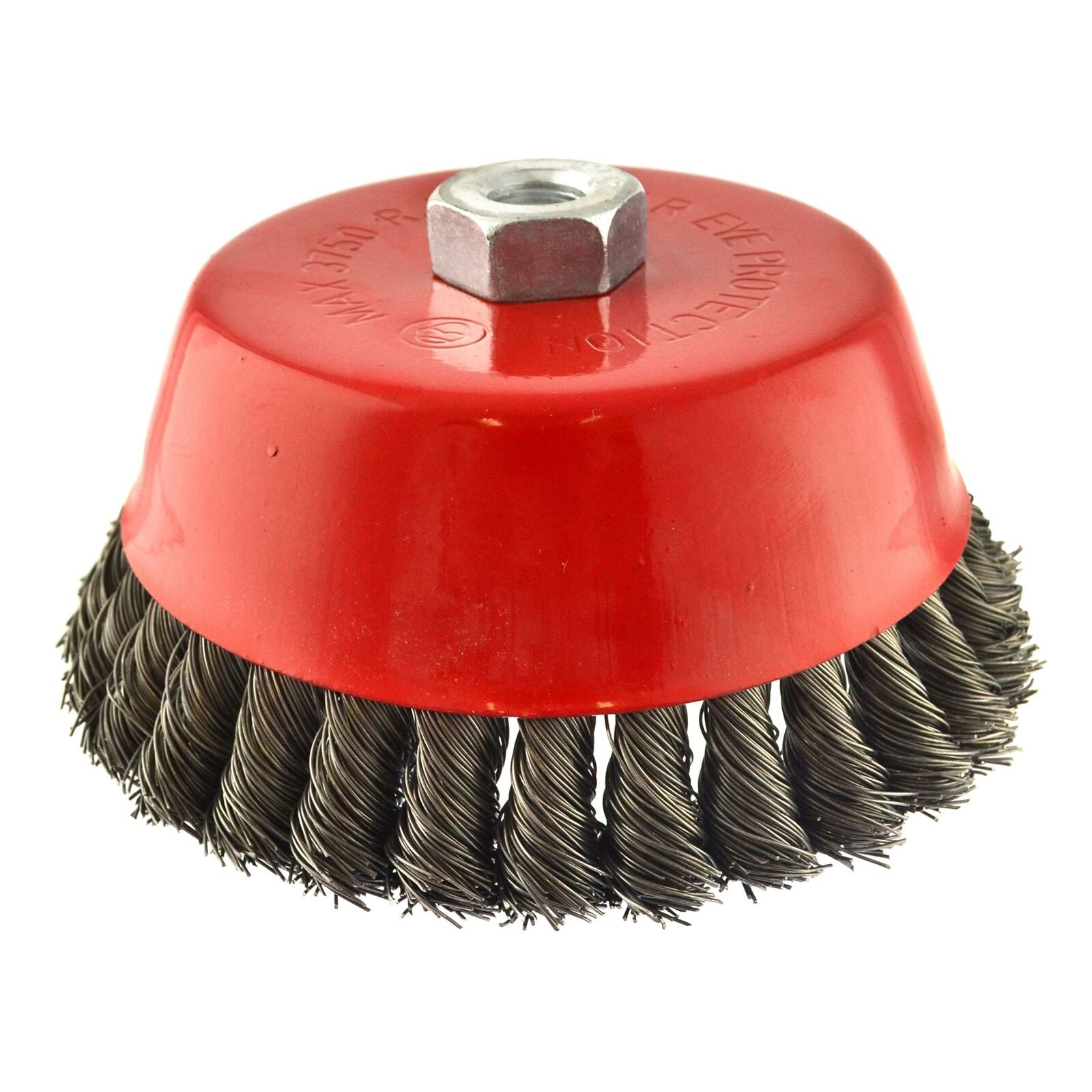 150mm Wire Cup Brush Wheel for 7  or 9  Angle Grinder Twist Knot