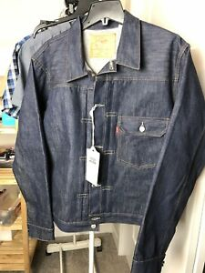 incredible prices new specials top brands Details about New Levis Vintage Big E LVC 1936 Type 1 Denim Jacket Selvage  Large Lot 506XX