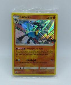 Losse kaarten Pokemon TCG Sun & Moon Ultra Prism Sealed Evolution Promo Pack Lucario SM95 Verzamelingen