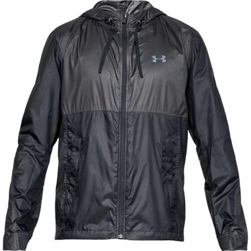 Under Armour 1325784-001 Men/'s Black Prevail Windbreaker Jacket