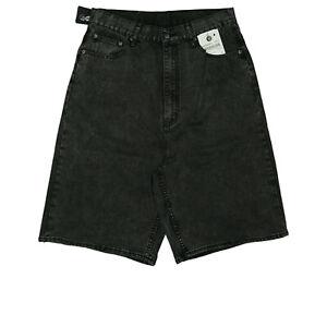 CHEAP-MONDAY-Damen-Sommer-Jeans-Hose-Short-Bermuda-Capri-HIGH-WAIST-W29-Grau-NEU