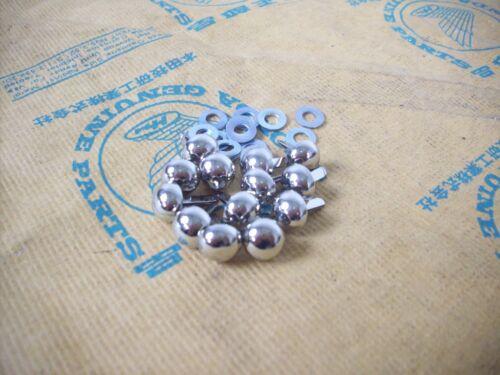 13 banc rivets rivets décoratifs//seat Cover pins HONDA CB 400 F FOUR