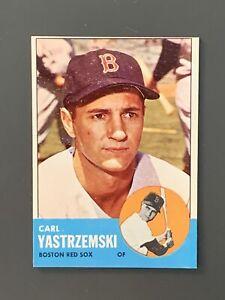 1963-Topps-115-Carl-Yastrzemski-EXMT-Boston-Red-Sox-HOF